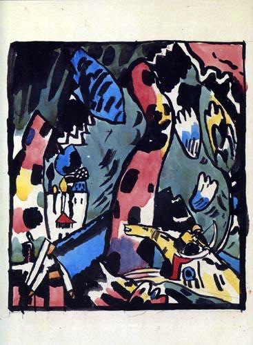 Wassily Kandinsky - Schütze