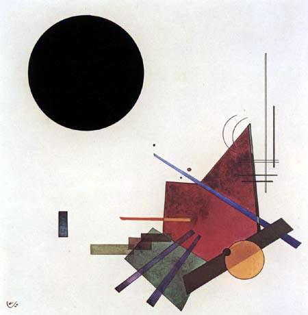 Wassily Kandinsky - Schwarze Beziehung