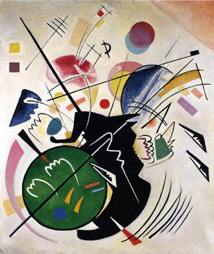 Wassily Wassilyevich Kandinsky - Black form