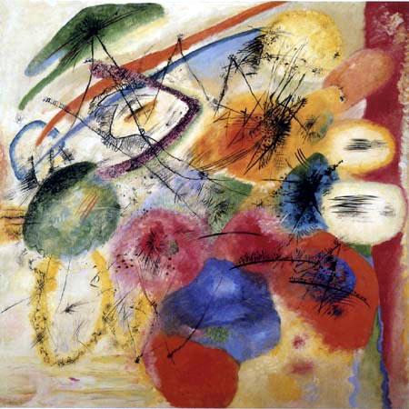 Vasili Kandinski - Líneas negras I