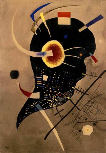 Wassily Wassilyevich Kandinsky - Black Voltage