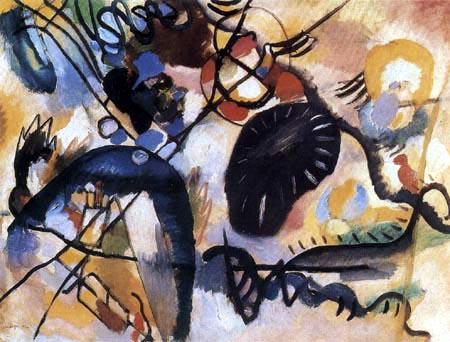 Wassily Kandinsky - Schwarzer Fleck I