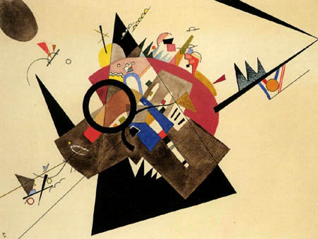 Vasili Kandinski - Triángulo Negro