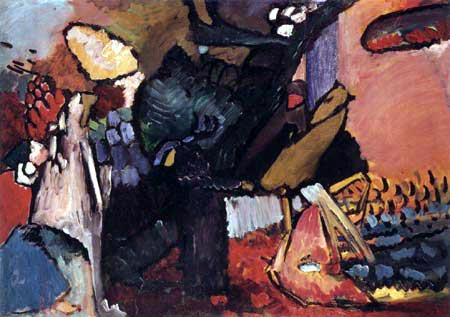 Vassily Kandinsky - Esquisse pour Improvisation IV