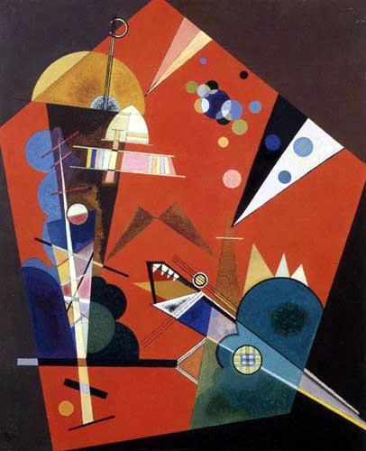 Wassily Kandinsky - Spannung nach oben