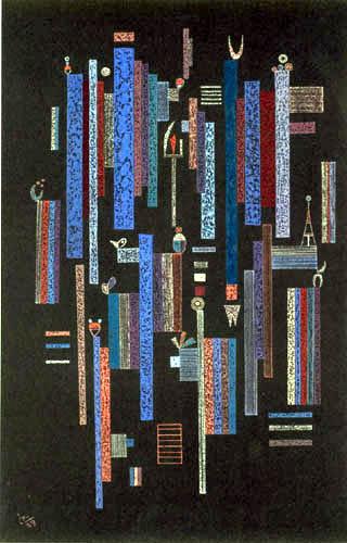 Wassily Kandinsky - Spiel der Vertikalen
