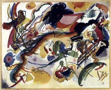 Wassily Kandinsky - Studie