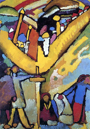 Wassily Kandinsky - Studie zu Improvisation 8
