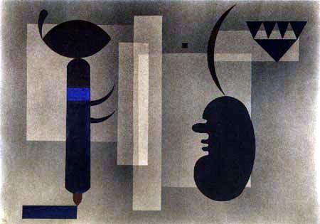 Wassily Kandinsky - Trübe Lage