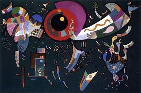 Wassily Kandinsky - Um den Kreis