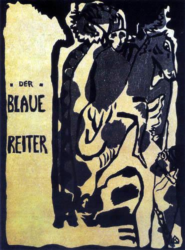 Wassily Kandinsky - Umschlag für den Almanach: