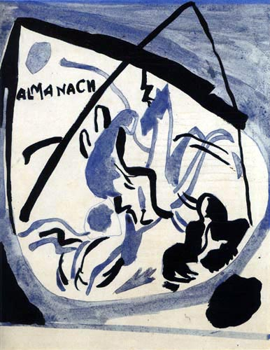 Wassily Wassilyevich Kandinsky - Cover Design with Rider