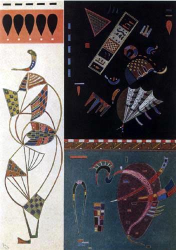 Wassily Kandinsky - Uneinigkeit - Einigkeit