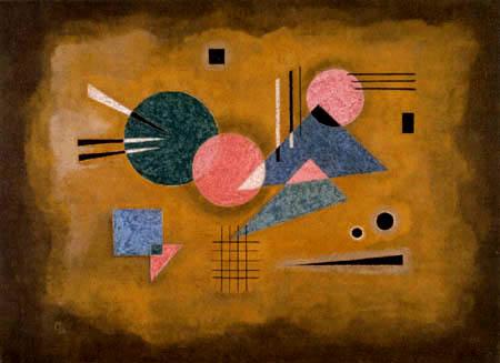Wassily Kandinsky - Verschmelzendes Rosa