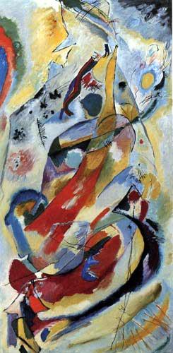 Wassily Kandinsky - Wandbild für Edwin R. Campbell, No 1
