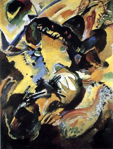 Wassily Kandinsky - Wandbild für Edwin R. Campbell, No 2