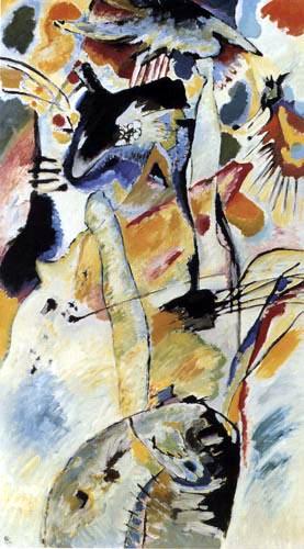 Wassily Kandinsky - Wandbild für Edwin R. Campbell, No 3