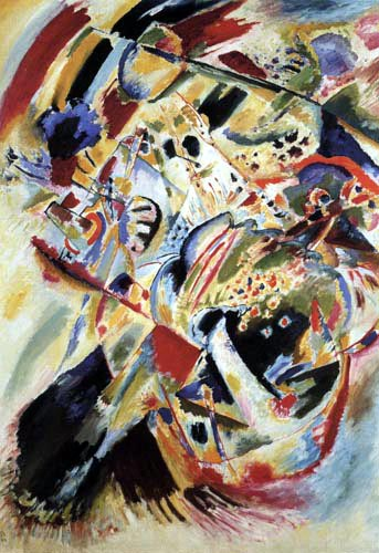 Wassily Kandinsky - Wandbild für Edwin R. Campbell, No 4