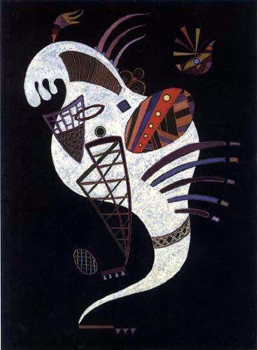 Wassily Kandinsky - Weiße Figur