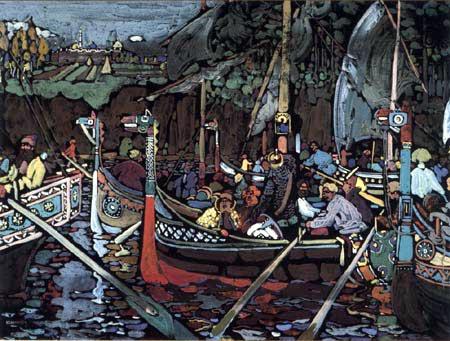 Wassily Wassilyevich Kandinsky - Volga song
