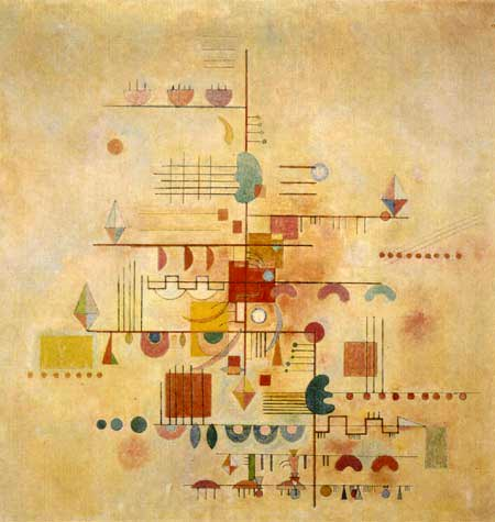 Wassily Wassilyevich Kandinsky - Tender Rise