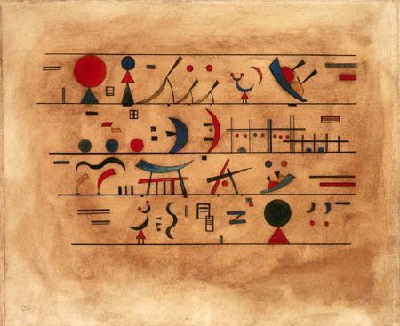 Wassily Wassilyevich Kandinsky - Sign series