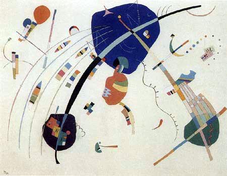 Wassily Kandinsky - Zum Blau