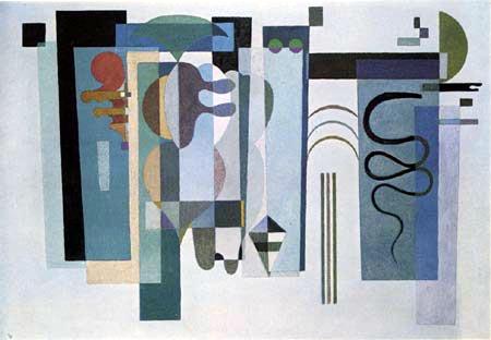 Wassily Kandinsky - Zwei grüne Punkte