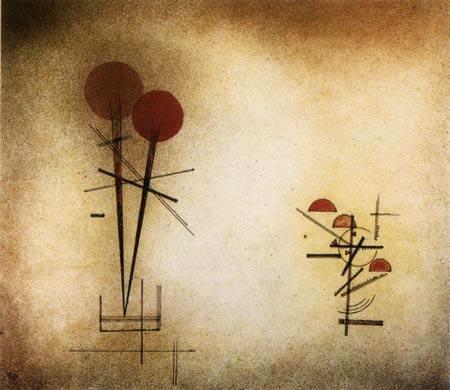 Wassily Kandinsky - Zwei Komplexe