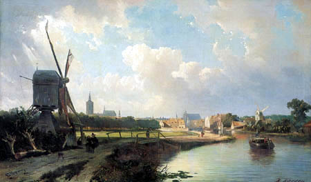 Kaspar Karsen - Mill into The Hague