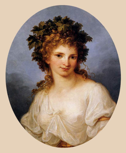 Angelica (Maria Anna Catharina) Kauffmann - Bacchante