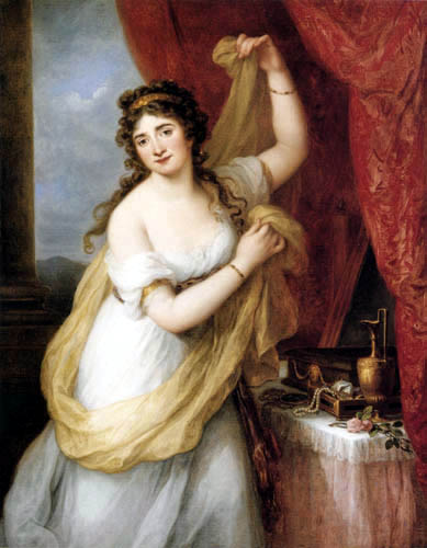 Angelica (Maria Anna Catharina) Kauffmann - Mrs. Smith