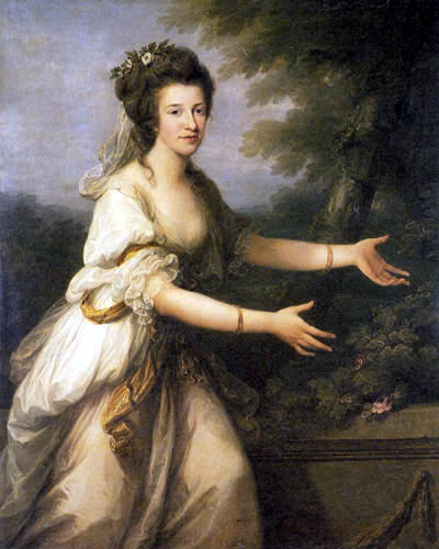 Angelica (Maria Anna Catharina) Kauffmann - Countess Julia Reventlow