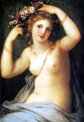 Angelica (Maria Anna Catharina) Kauffmann - Flora