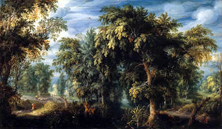 Alexander Keirincx (Kerrincx) - Waldlandschaft