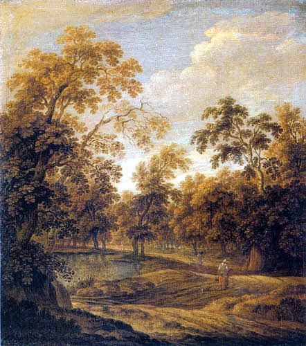 Alexander Keirincx (Kerrincx) - Forest landscape