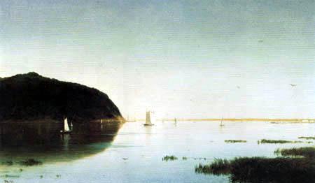 John Frederick Kensett - Shrewsbury River, New Jersey