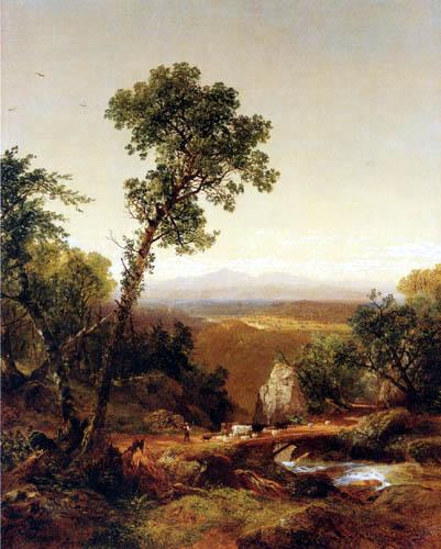 John Frederick Kensett - White Mountains Scenery