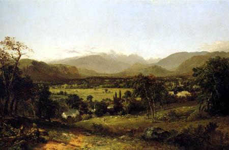 John Frederick Kensett - The White Mountains