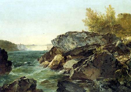 John Frederick Kensett - Niagara Falls