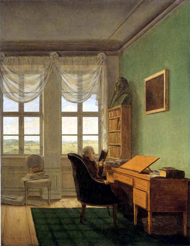 Georg Friedrich Kersting - In the study