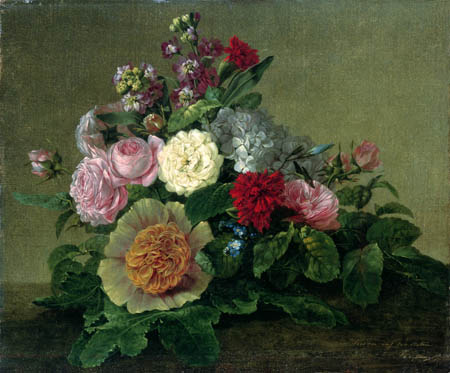 Georg Friedrich Kersting - Flower still life