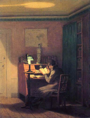 Georg Friedrich Kersting - The elegant Reader