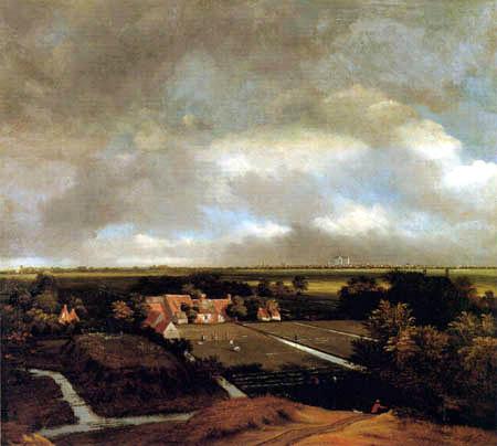 Jan van Kessel - Bleichwiesen bei Haarlem