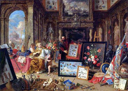 Jan van Kessel the Elder - The four world parts, Europe