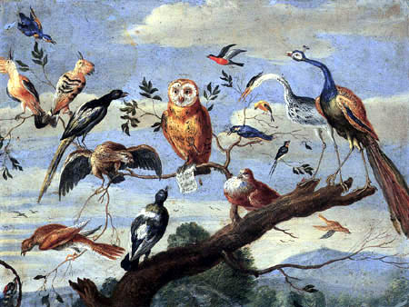 Jan van Kessel the Elder - Concert of Birds