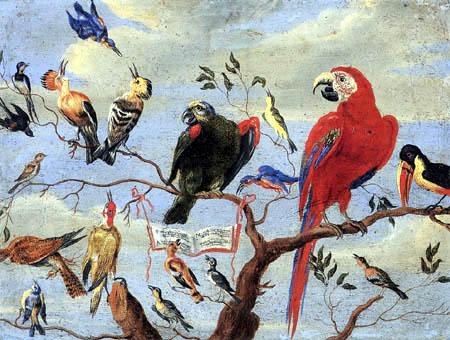 Jan van Kessel the Elder - Concert of Birds