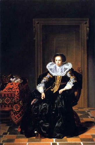Thomas Hendricksz. de Keyser - Portrait d'une dame