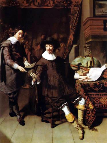 Thomas Hendricksz. de Keyser - Constantijn Huygens