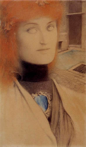 Fernand Khnopff - Who shall deliver me?